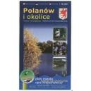 Polanów i okolice Mapa turystyczna
